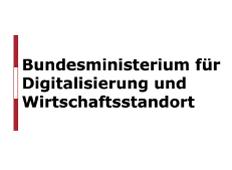 Logo des Bundesministerin für Digitalisierung und Wirtschaftsstandort