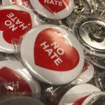 Bild von no hate buttons