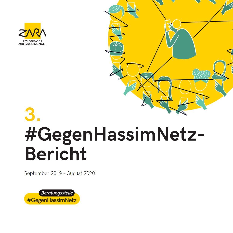 Dritter Hass im Netz Bericht von Zara, Berichtszeitraum September 2019 - August 2020