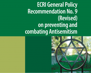 ECRI Recommendation on preventing and combating Antisemitism