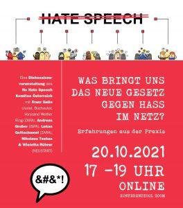 Gegen Hass im Netz Veranstaltungseinladung